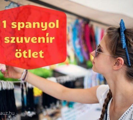 11 spanyol szuvenir
