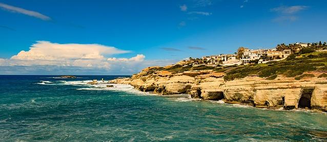 ciprus időjárás tengerhőmérséklet