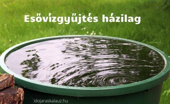 esővízgyűjtés házilag