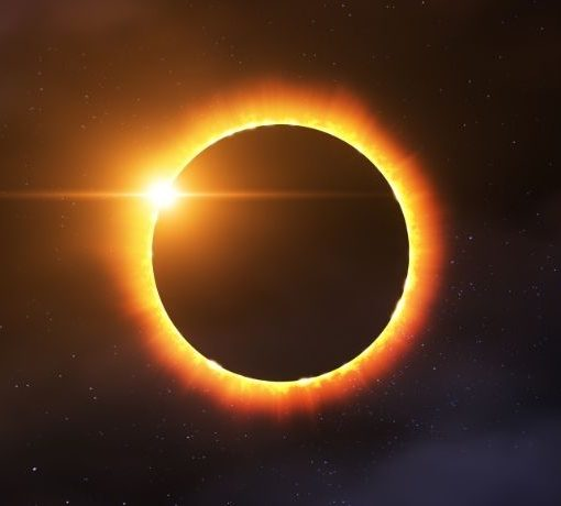 gyűrűs napfogyatkozás