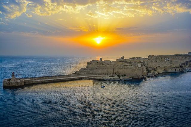 málta időjárás tengerhőmérséklet