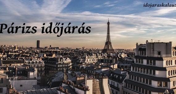 párizs időjárás