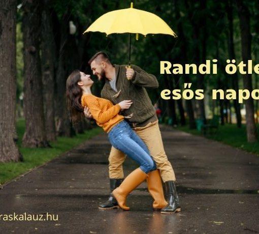 randi ötletek esős napokra